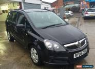 2006 [06] VAUXHALL ZAFIRA LIFE 1.6  7 SEATER SPARES OR REPAIR NON RUNNER for Sale